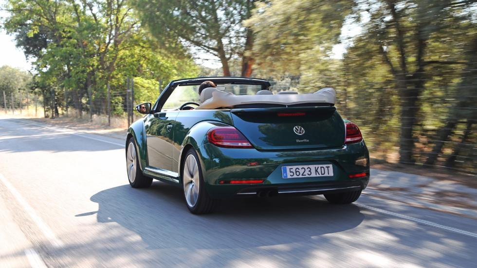 Prueba Volkswagen Beetle Cabrio (zaga)
