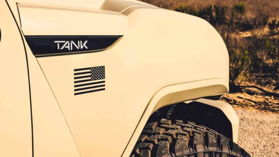 Revzani Tank Military Edition
