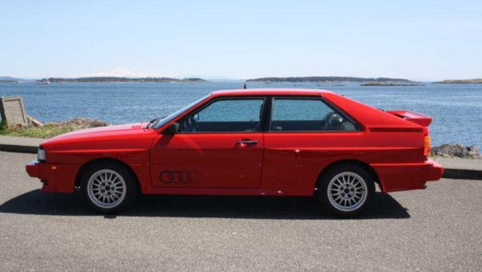 Este Audi Quattro de 1985, a subasta