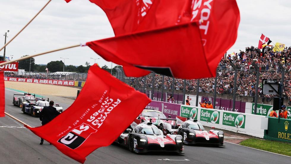 El Toyota TS050 Hybrid de Gazoo Racing para las 24 Horas de Le Mans