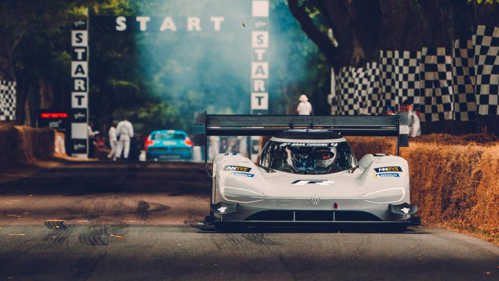 VW I.D. R Pikes Peak en Goodwood