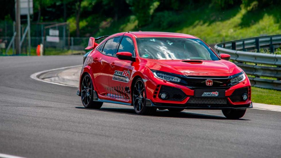 Honda Civic Type R Challenge Hungaroring