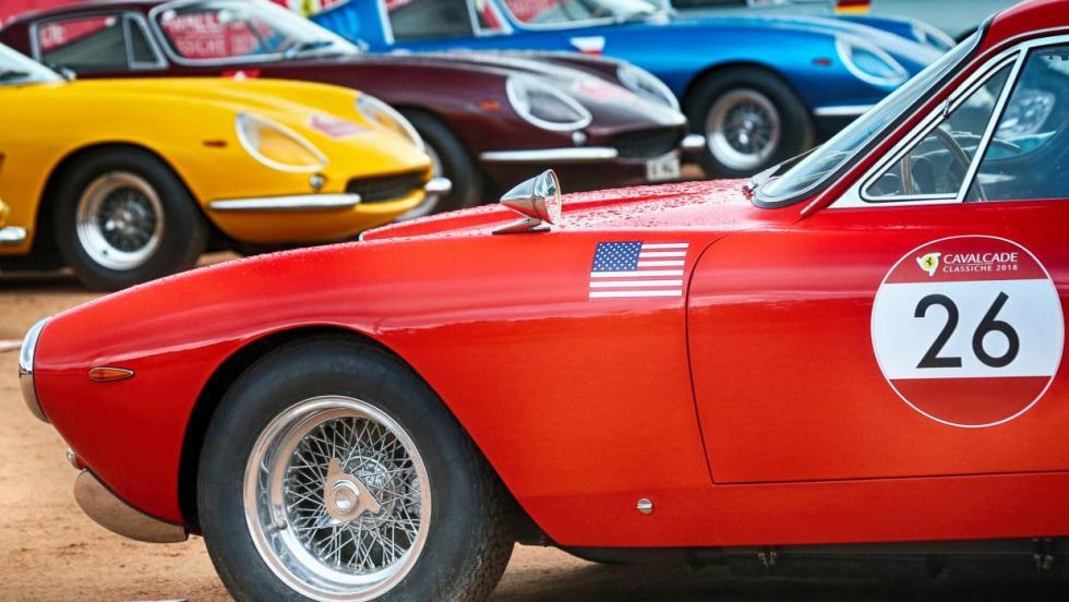 Cavalcade Classiche Ferrari 2018