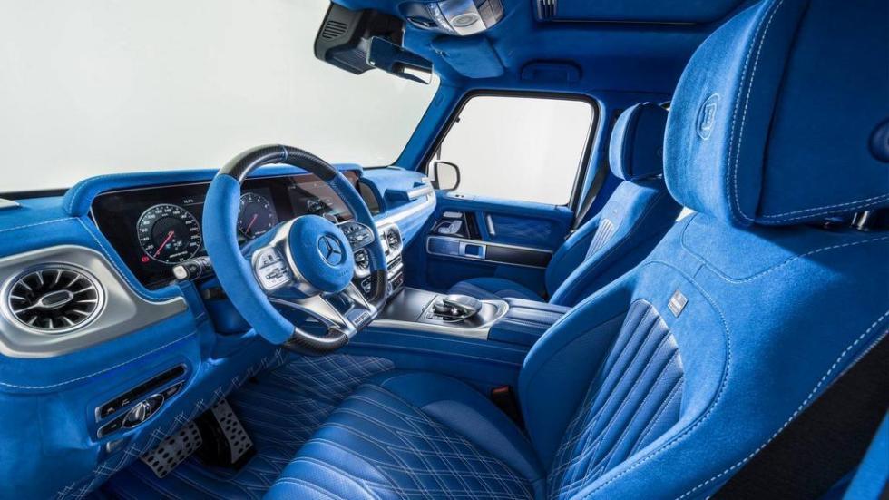 Mercedes-AMG G63 azul