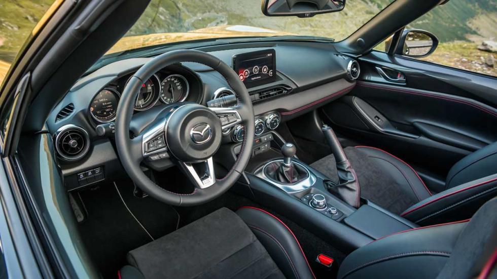nuevo mx5 transfagarasan rumania test descapotable RF Roadster Soft Top