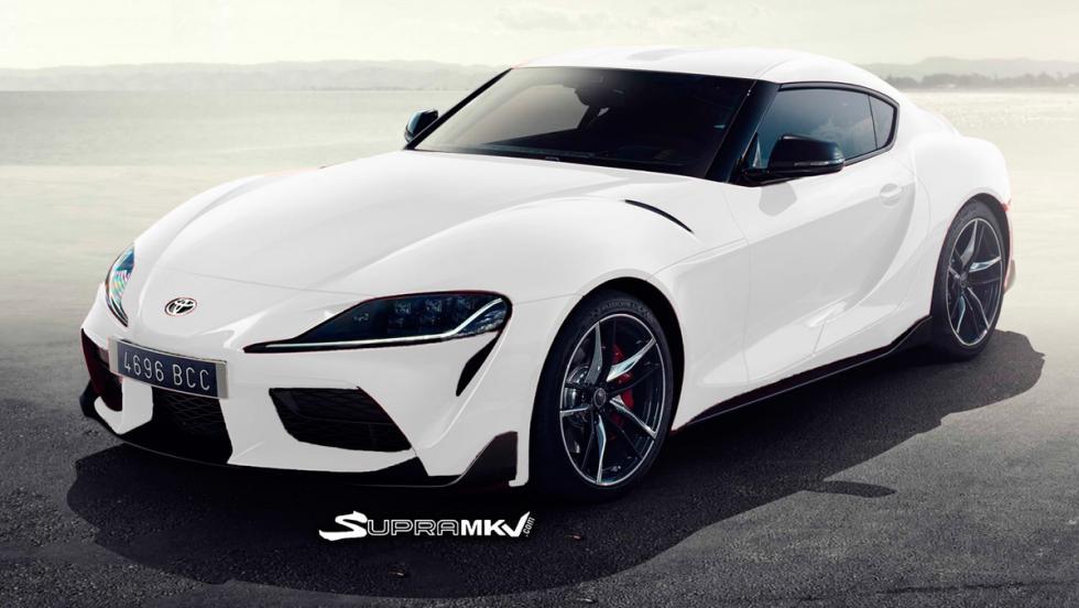 Nuevo Toyota Supra render (blanco 2)