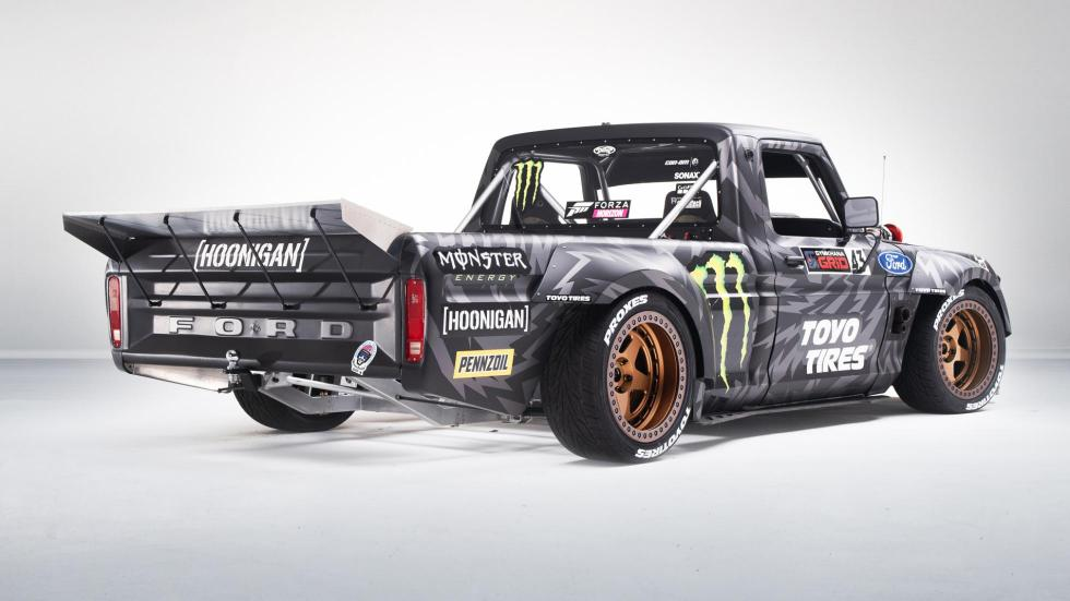 Pick-up Ken Block Hoonitruck (trasera)