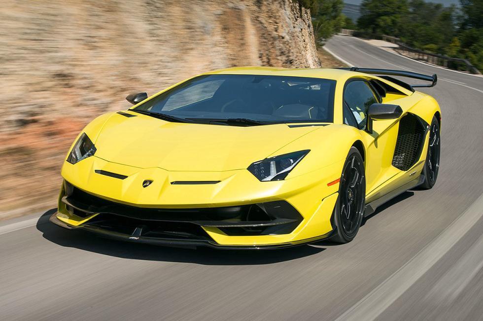 Al volante: Lamborghini Aventador SVJ