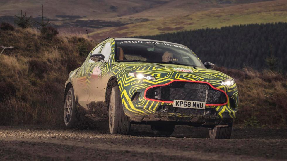 Aston Martin DBX (pruebas 2)