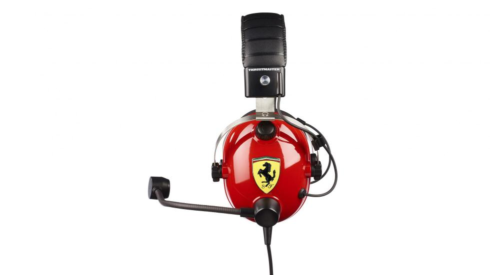 Auriculares Thrustmaster T Racing Scuderia Ferrari Edition (lateral)