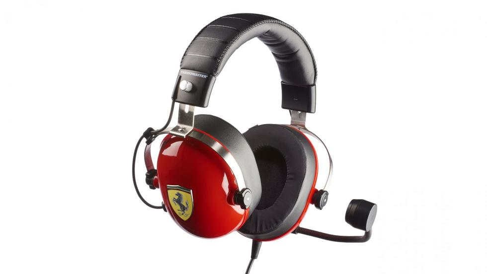 Auriculares Thrustmaster T Racing Scuderia Ferrari Edition