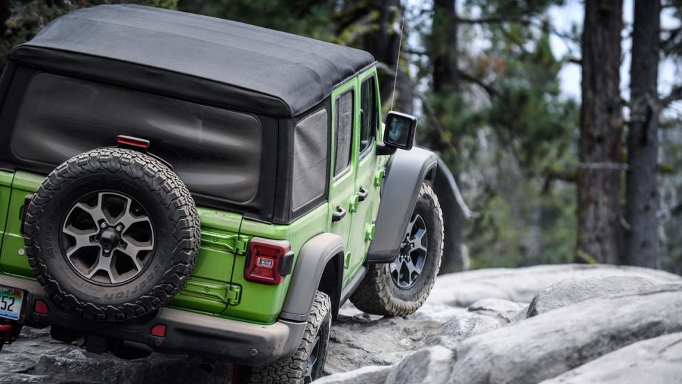 Jeep Wrangler 2018 Rubicon Trail