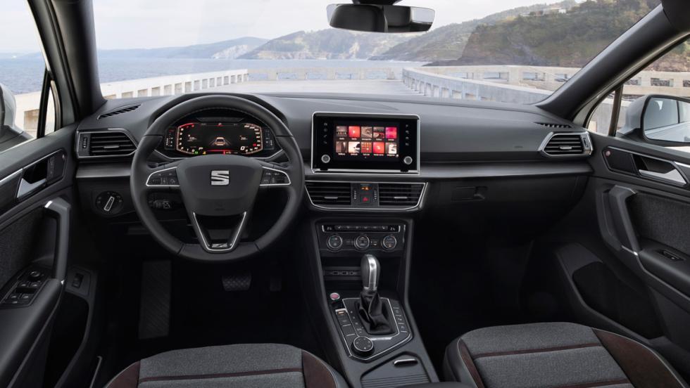 Prueba Seat Tarraco 2.0 TSI 190 CV (interior)