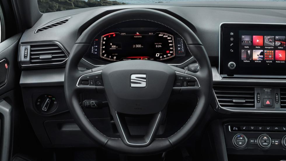 Prueba Seat Tarraco 2.0 TSI 190 CV (volante)