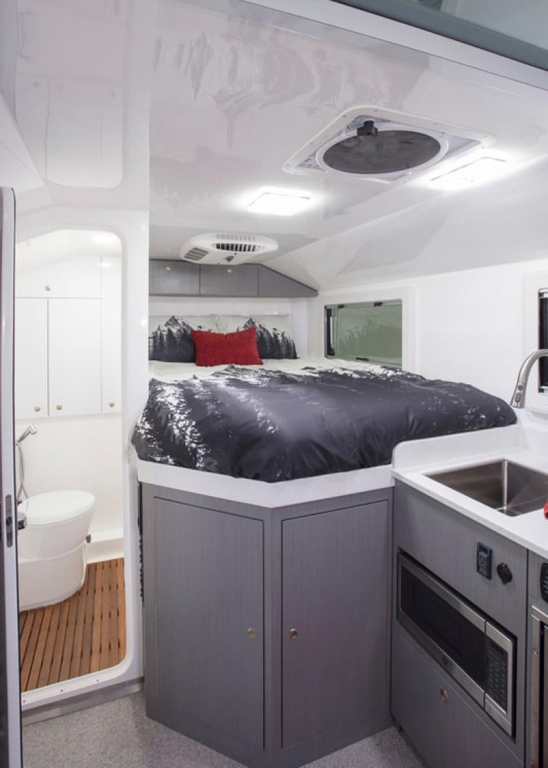 Adventure Truck (interior)
