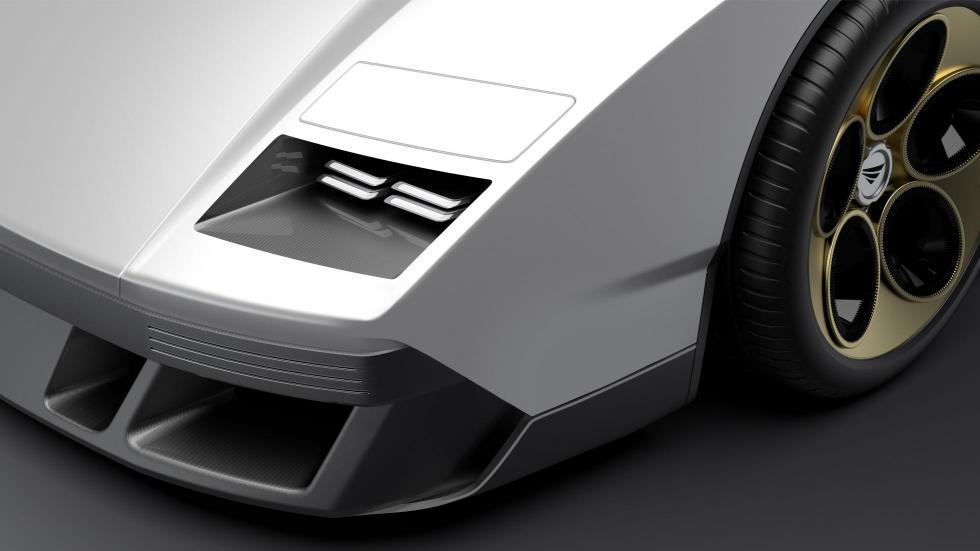 Lamborghini Countach (faro)