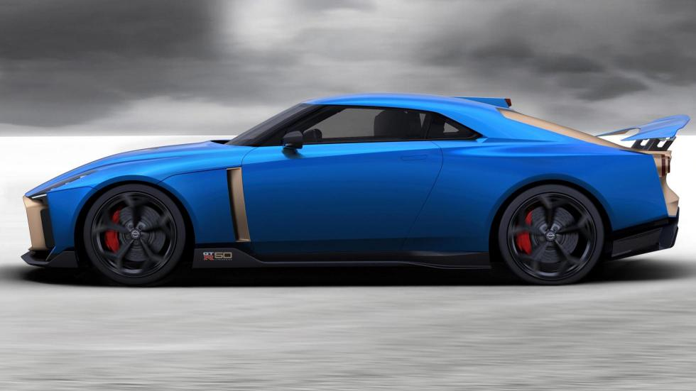 Nissan GT-R 50 (lateral)