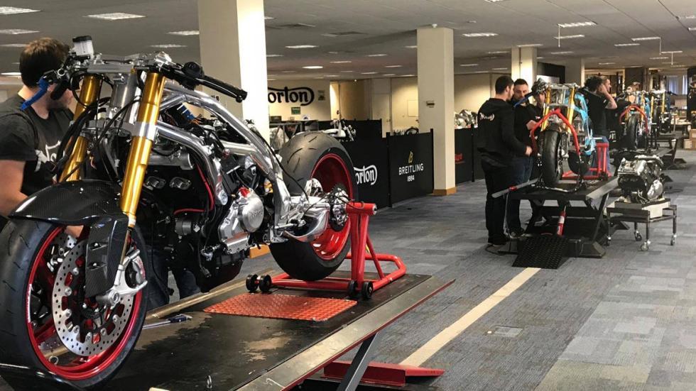 fabricacion produccion linea montaje moto