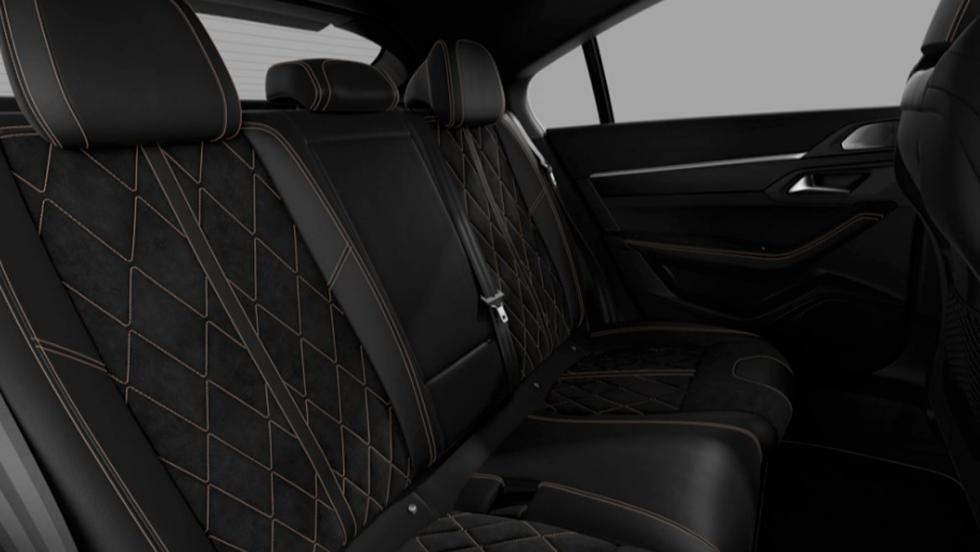 Peugeot 508 GT (plazas traseras)