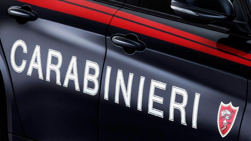 Alfa Romeo Giulia QV carabinieri coches policia