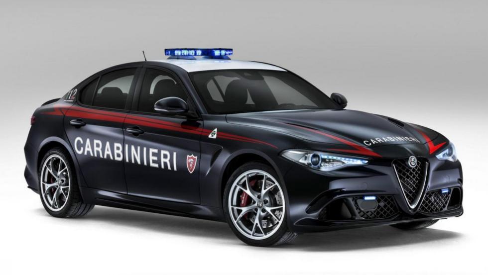 Alfa Romeo Giulia QV - Policía de Italia