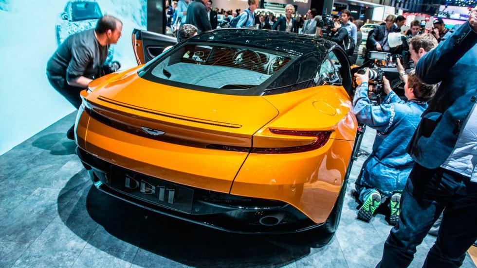 Aston Martin DB11, Salón del Automóvil de Ginebra 2016