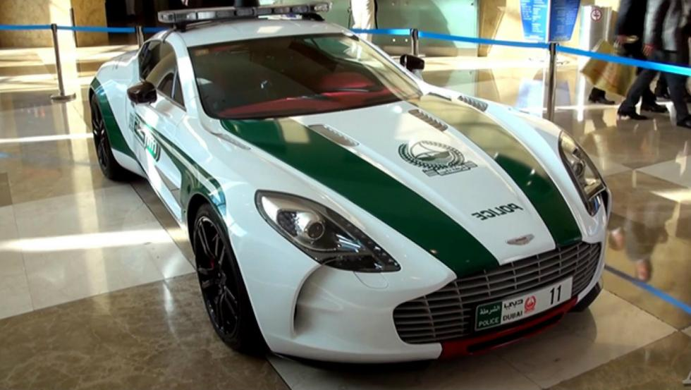 Aston Martin One-77 - Policía de Dubai