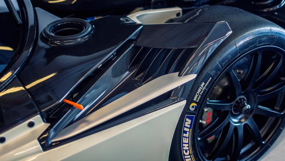 Aston Martin Vulcan, branquias