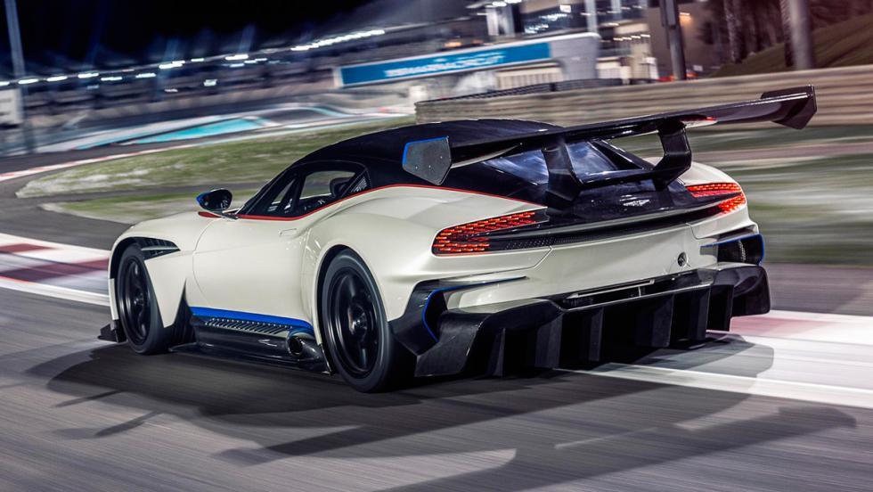 Aston Martin Vulcan, difusor