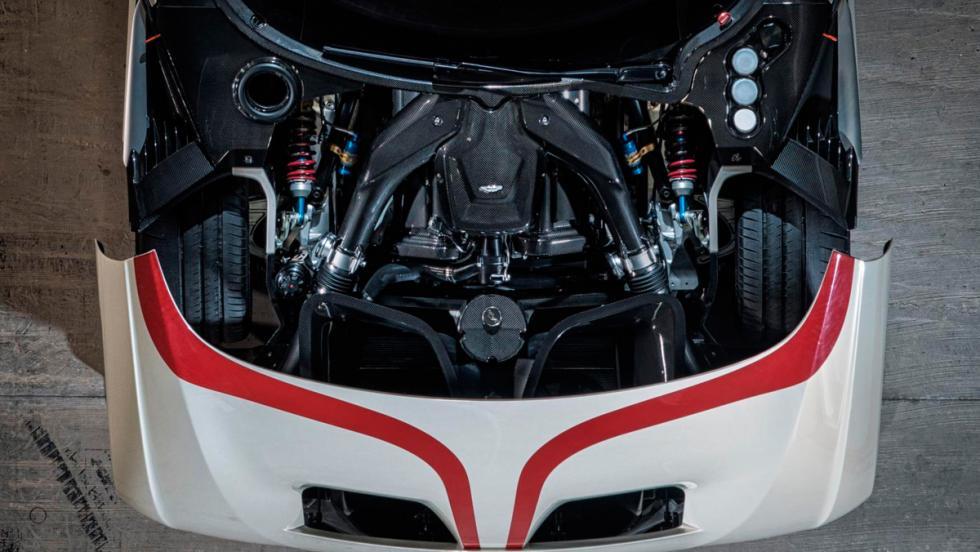 Aston Martin Vulcan, motor
