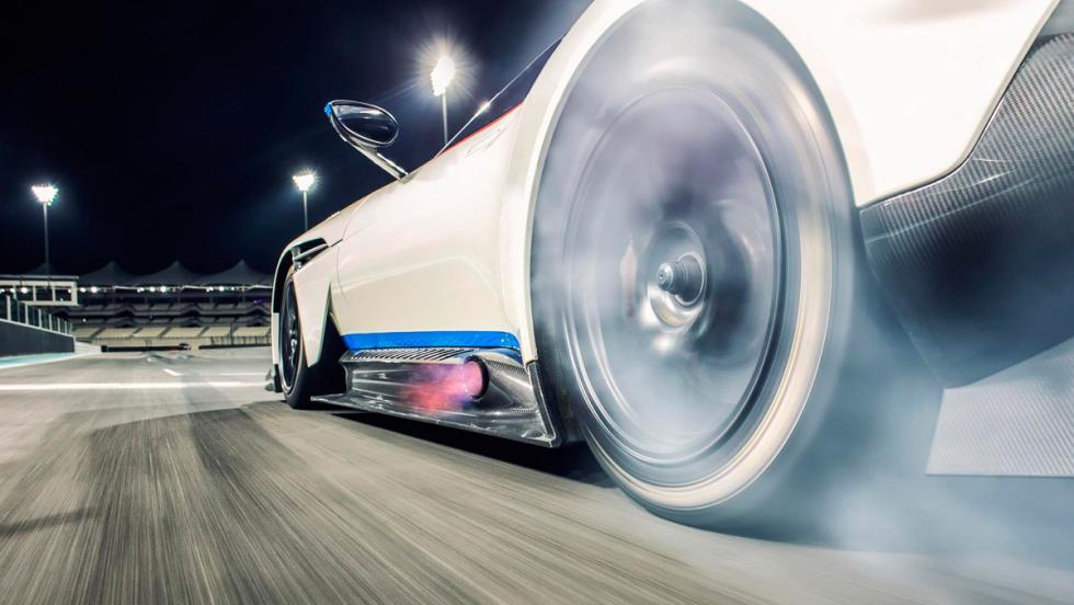 Aston Martin Vulcan, ruedas