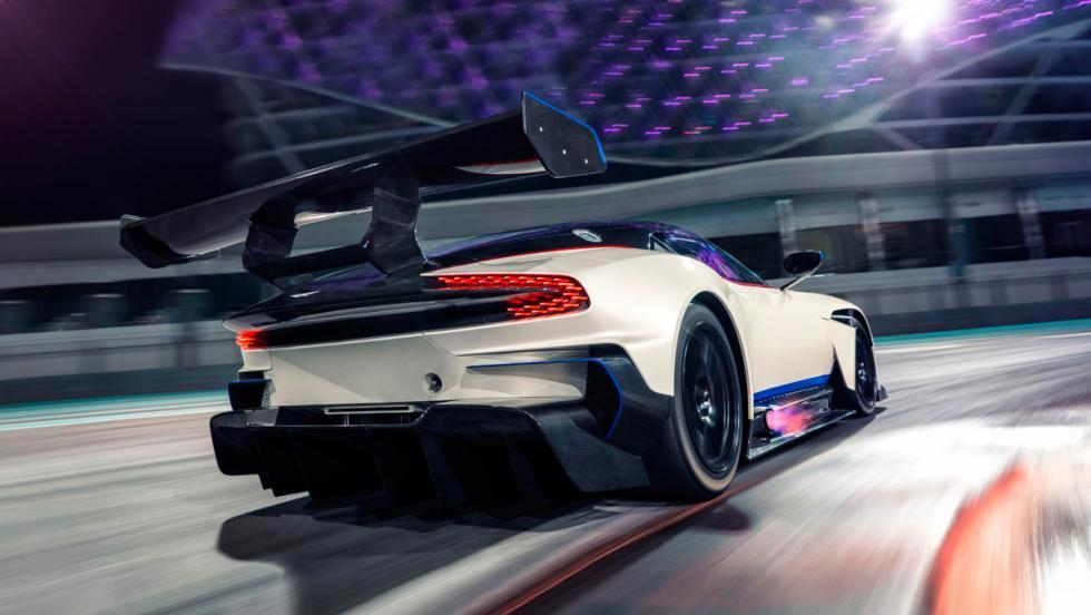 Aston Martin Vulcan, trasera