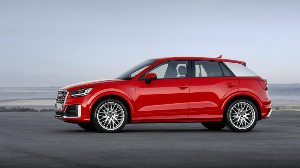 Audi Q2 lateral