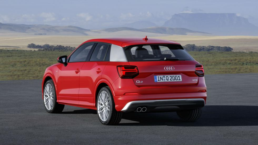 Audi Q2 Trasera