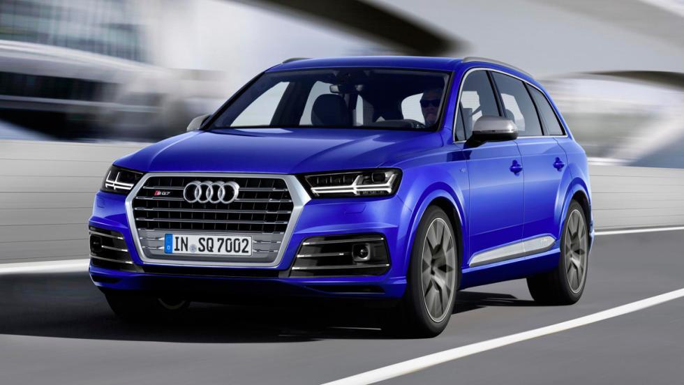Audi SQ7, frontal