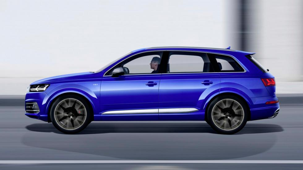 Audi SQ7, lateral