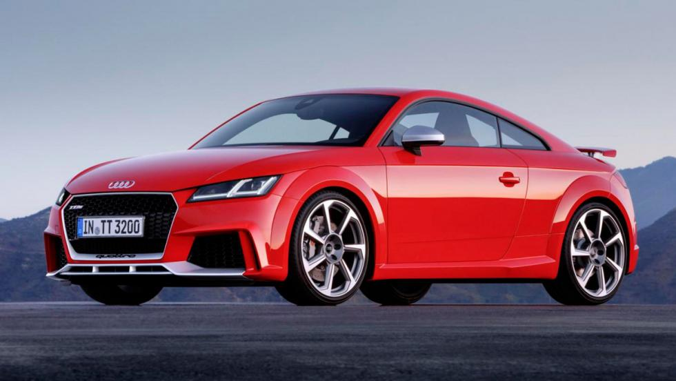 Audi TT RS Coupé frontal