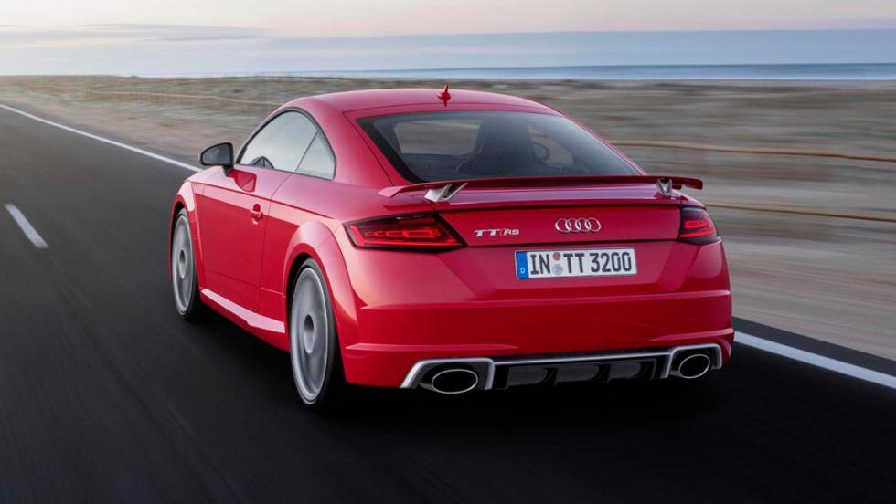 Audi TT RS Coupé trasera