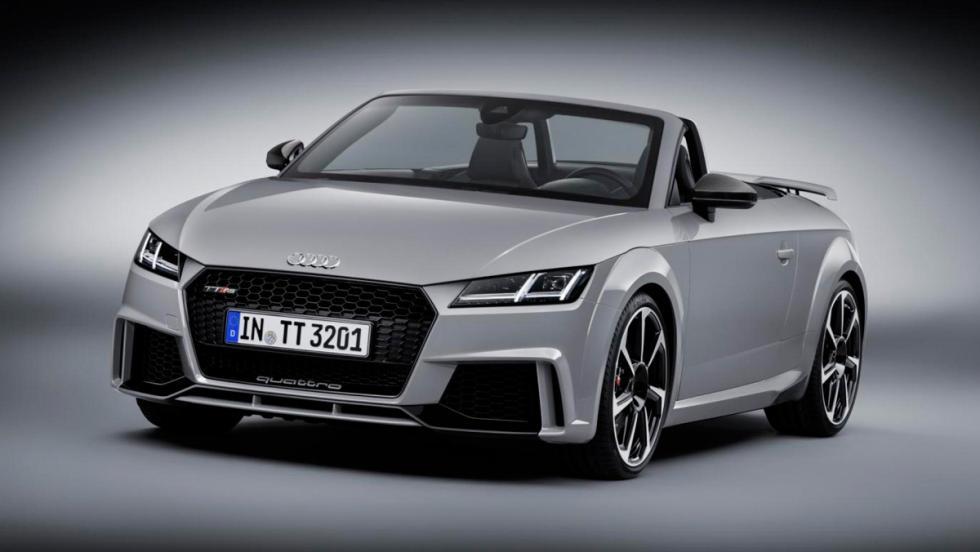 Audi TT RS Roadster gris