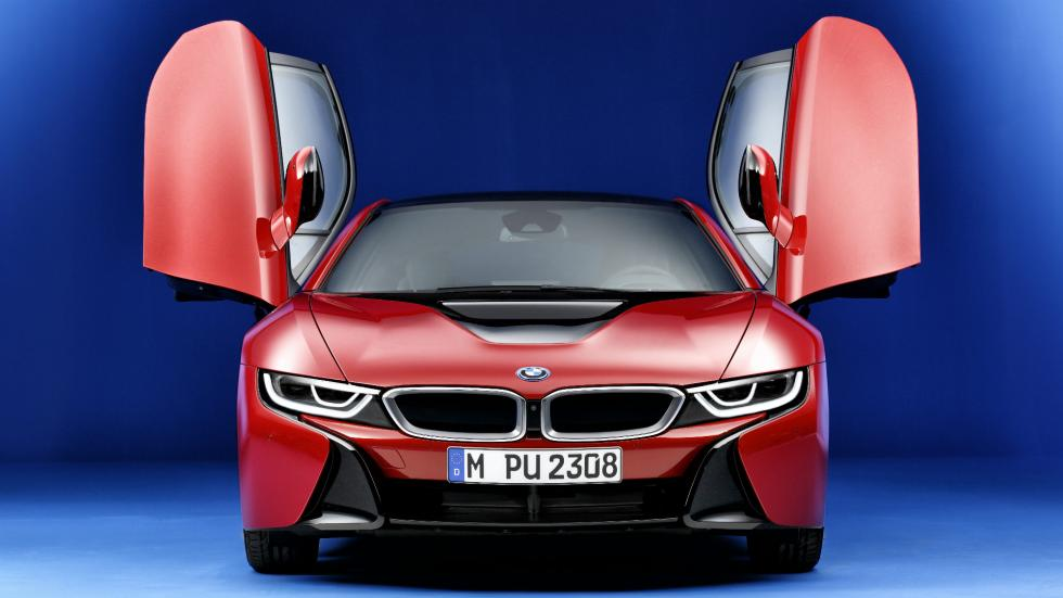 BMW i8 Protonic Red Edition frontal