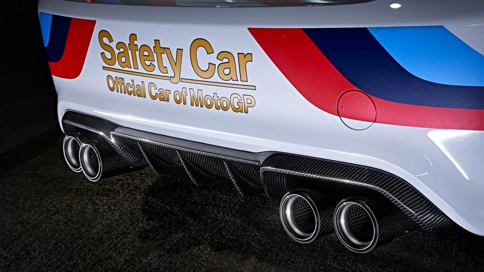 BMW M2 Safety Car Escapes