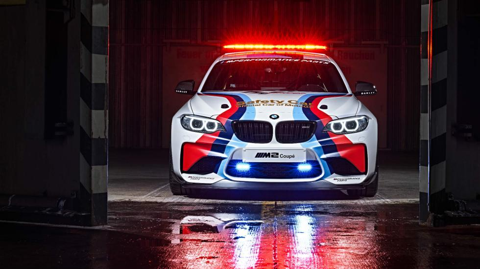 BMW M2 Safety Car Frontal