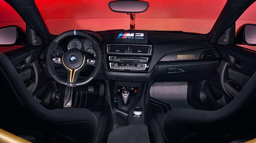 BMW M2 Safety Car Interior