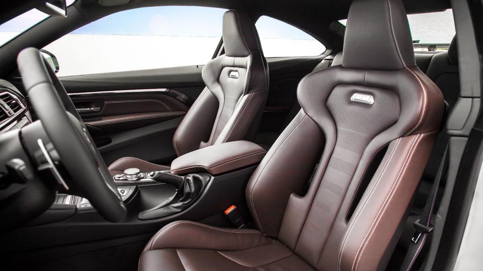 BMW M4 Competition Sport Edition asientos cuero bmw individual