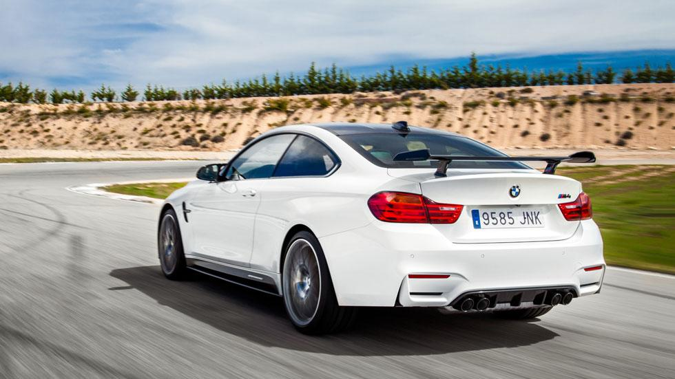 BMW M4 Competition Sport Edition trasera circuito