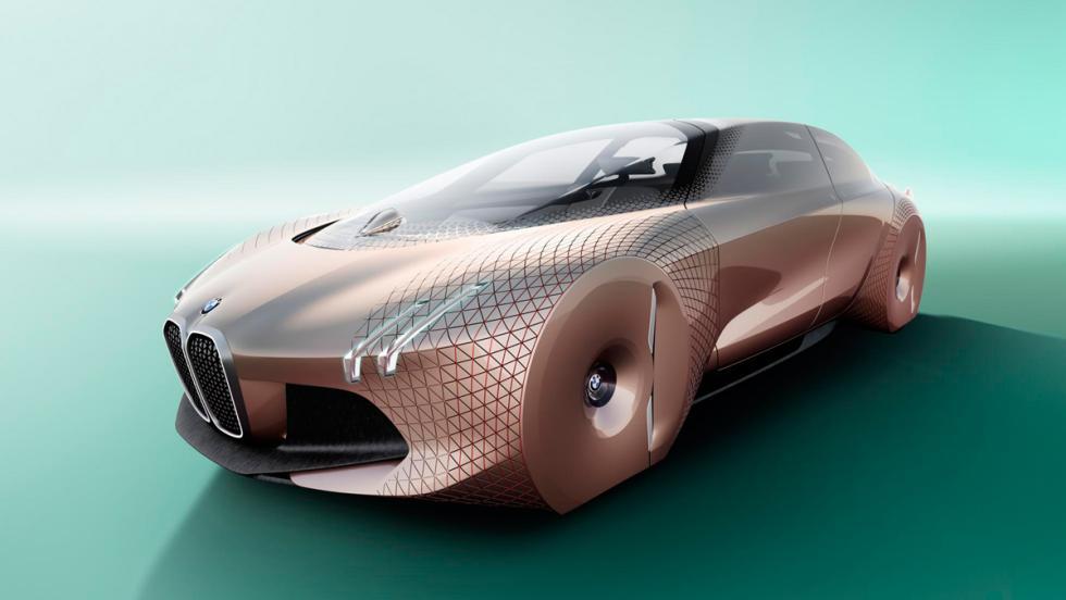 BMW Vision Next 100, 3/4 delantero