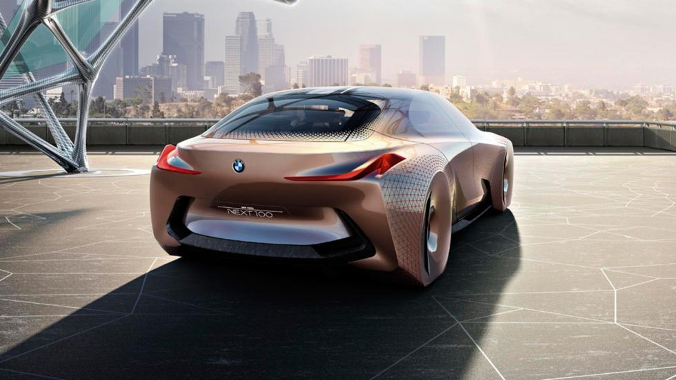 BMW Vision Next 100, 3/4 trasero