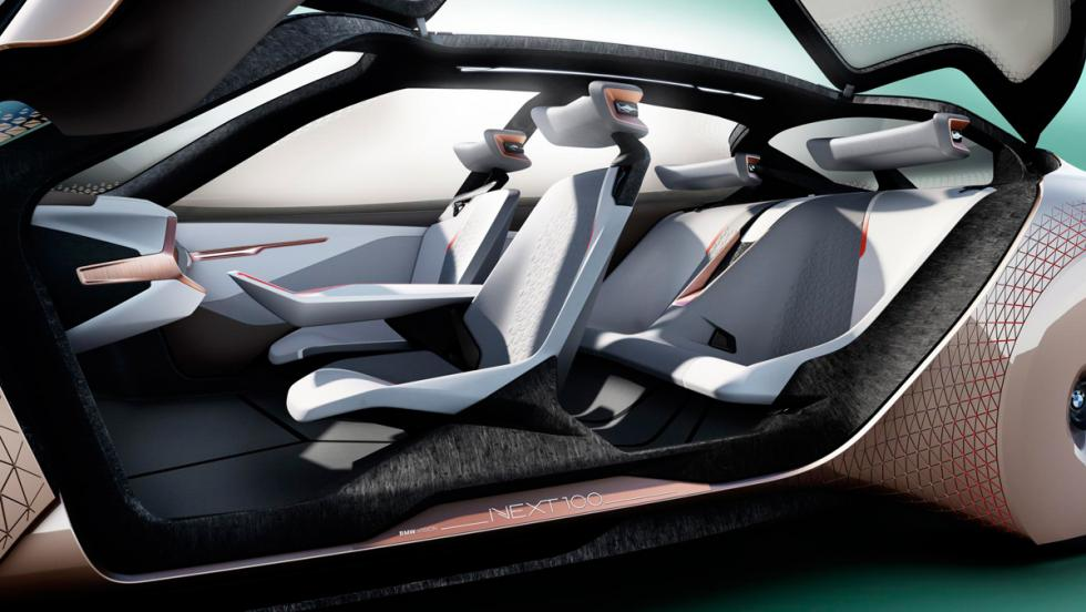 BMW Vision Next 100, asientos