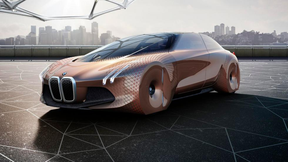 BMW Vision Next 100 concept, 3/4 delantero