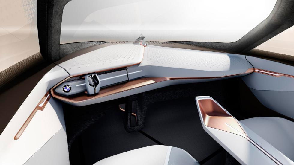 BMW Vision Next 100 Concept, salpicadero